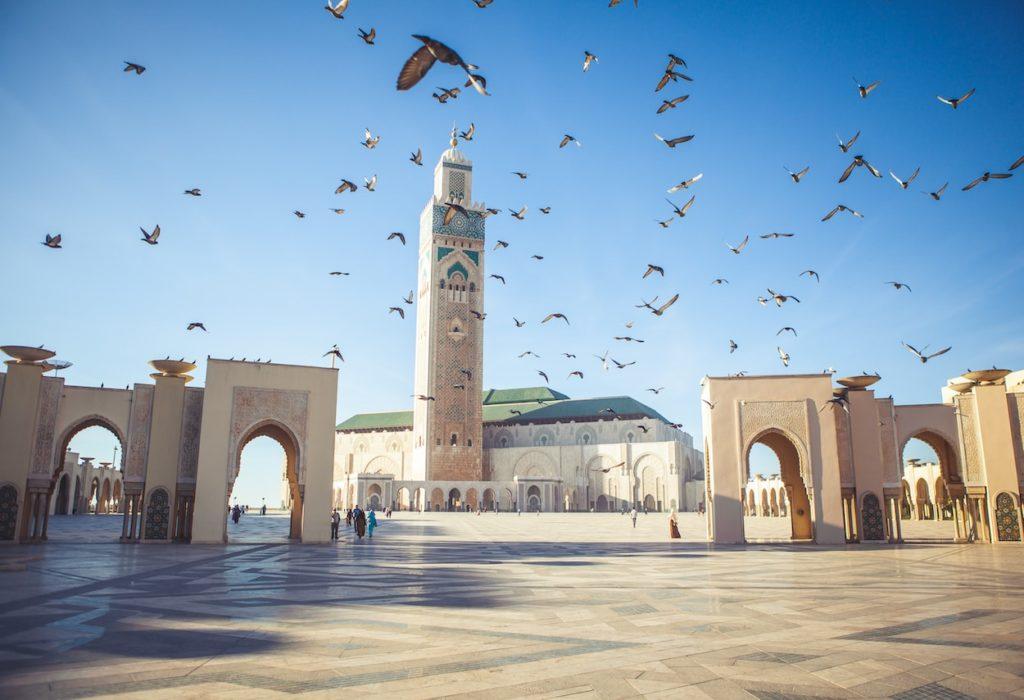 Mezquita de Hassan II Casablanca islam